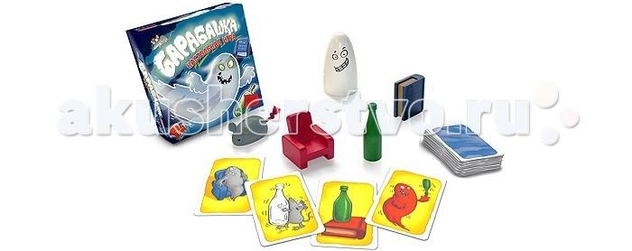 Настольные игры Стиль жизни Настольная игра Барабашка roomble кресло winona белое