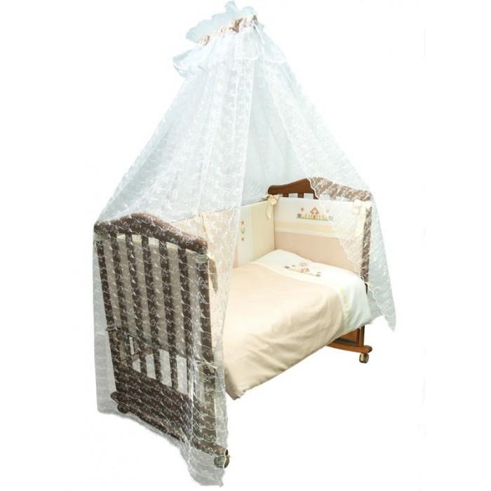 Постельные принадлежности , Комплекты в кроватку Сонный гномик Кантри (7 предметов) арт: 8142 -  Комплекты в кроватку