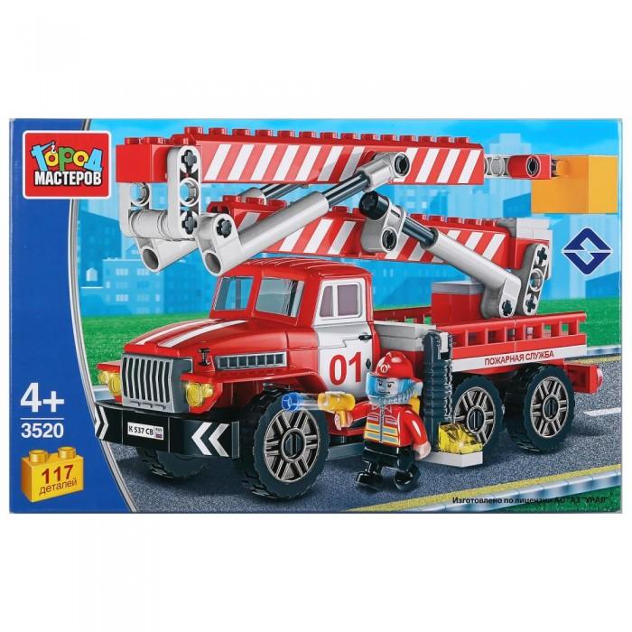 Картинка для Сборные модели Город мастеров Пожарный урал (117 деталей)