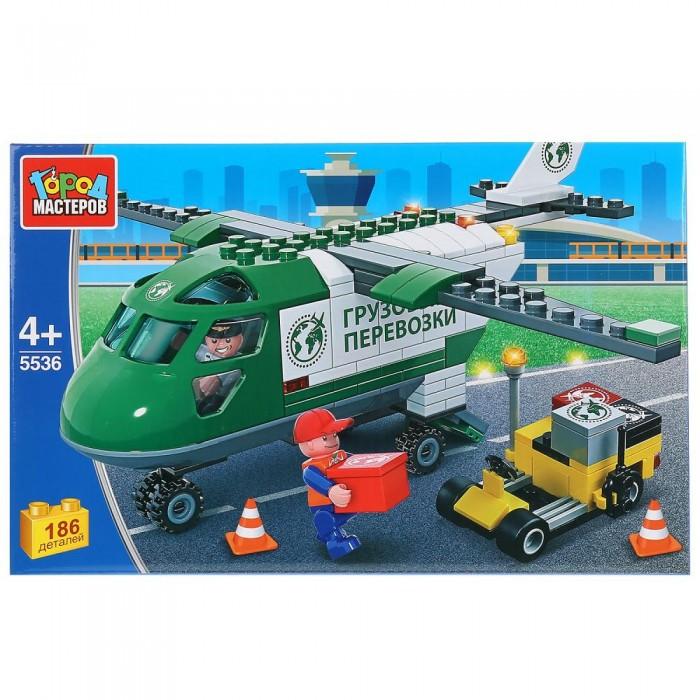 Картинка для Сборные модели Город мастеров Транспортный самолет (186 деталей)