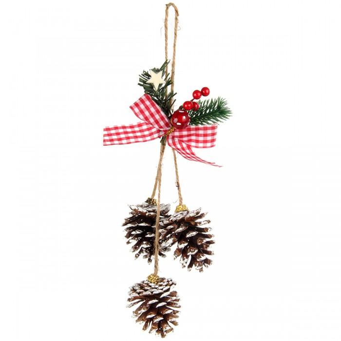 Новогодние украшения Веселый хоровод Новогоднее украшение Подвеска 35 см