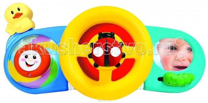 Подвесная игрушка Kiddieland панель на коляску/кроватку Руль