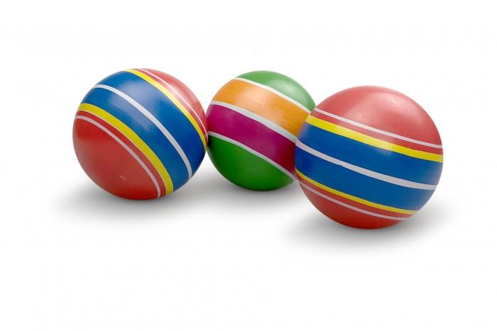 Мячики и прыгуны Чапаев Мяч Полосатики 75 мм мячики и прыгуны чапаев мяч серия классика 75 мм