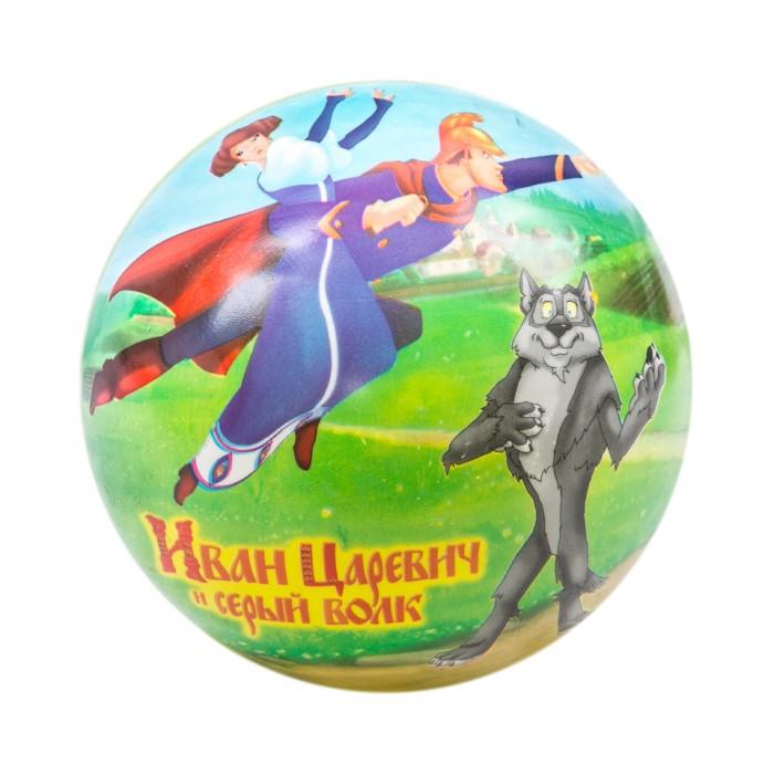 Мячики и прыгуны Unice Мяч Иван Царевич и Серый волк 23 см скульптура иван царевич