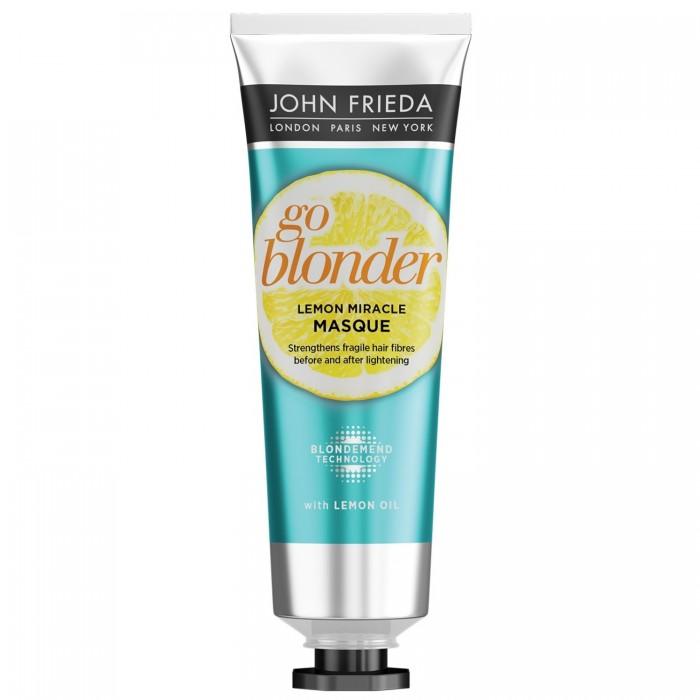 Купить Косметика для мамы, John Frieda Укрепляющая маска для ослабленных волос Go Blonder Lemon Miracle 100 мл