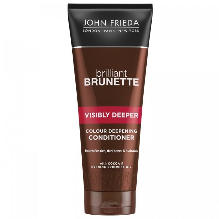 Купить John Frieda Кондиционер для создания насыщенного оттенка Brilliant Brunette Visibly Deeper 250 мл в интернет магазине. Цены, фото, описания, характеристики, отзывы, обзоры