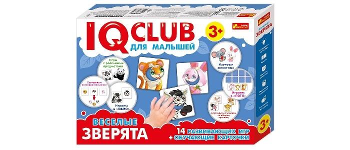 Ранок IQ-club. Для малышей. Весёлые зверята