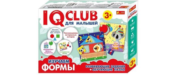Картинка для Ранок IQ-club. Для малышей. Изучаем формы