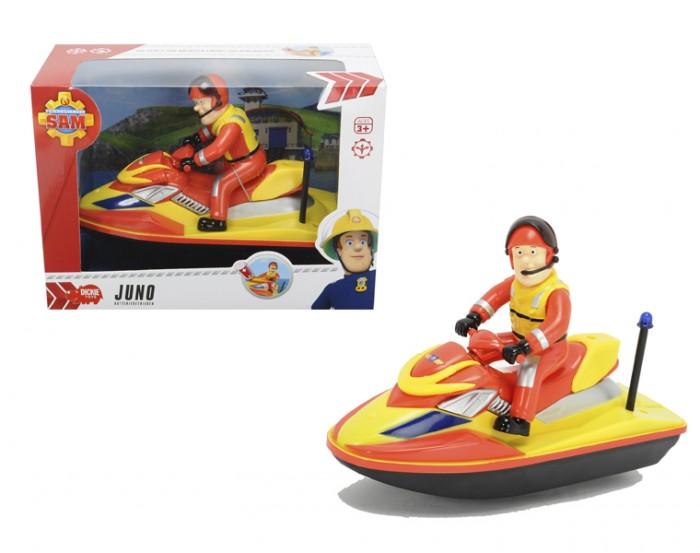 Игрушки для ванны Dickie Пожарный Сэм Водный скутер dickie toys водный мотоцикл sea jet цвет голубой салатовый