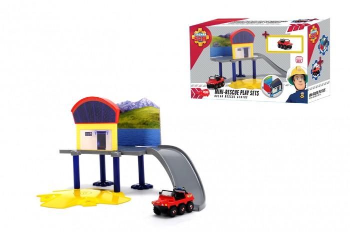 Машины Dickie Пожарный Сэм Маленький морской гараж dickie toys пожарный сэм пожарный гараж
