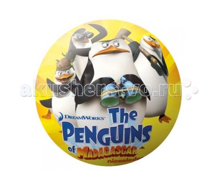 Мячики и прыгуны Unice Мяч Пингвины из Мадагаскара 15 см unice винкс 15 см