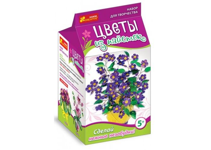 Купить Ранок Цветы из пайеток. Сделай нежные незабудки в интернет магазине. Цены, фото, описания, характеристики, отзывы, обзоры
