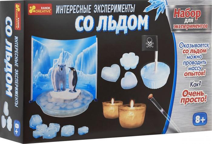 Наборы для опытов и экспериментов Ранок Набор для экспериментов Интересные эксперименты со льдом недорого