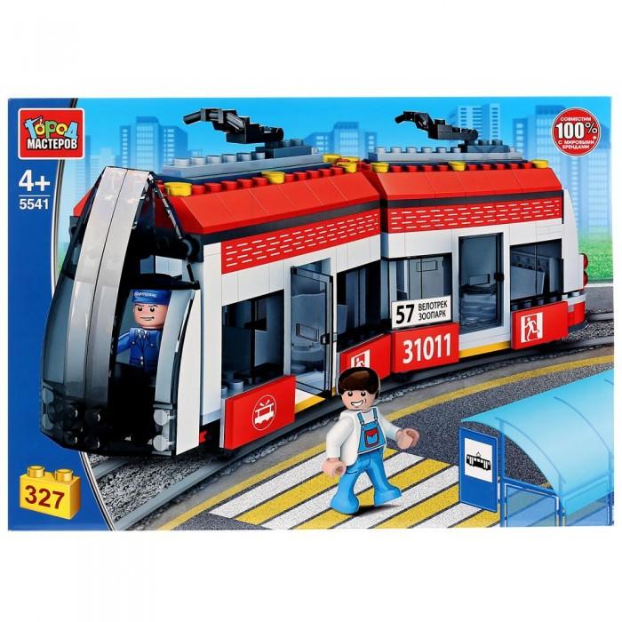 Купить Сборные модели, Город мастеров Новый трамвай (327 детали)