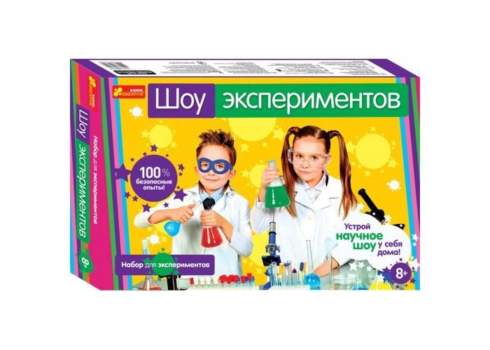 Купить Наборы для опытов и экспериментов, Ранок Набор для экспериментов Шоу экспериментов