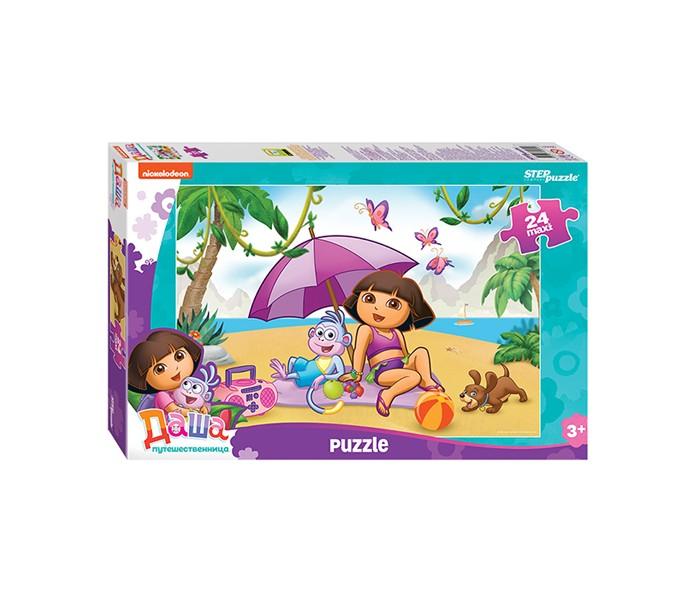 Пазлы Step Puzzle Пазлы Даша-путешественница макси (24 детали) пазл step puzzle maxi даша путешественница 90050 24 дет