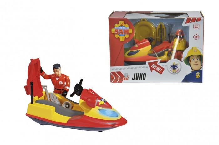 Игрушки для ванны Simba Пожарный Сэм Гидроцикл квадроцикл simba пожарный сэм меркурий со светом фигурка и акс 11 16 12см