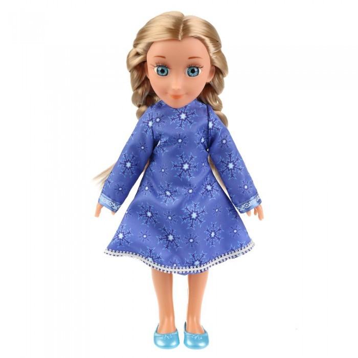 Куклы и одежда для кукол Карапуз Кукла Снежная королева Герда 32 см кукла карапуз герда 29 см снежная королева в голубом платье карапуз