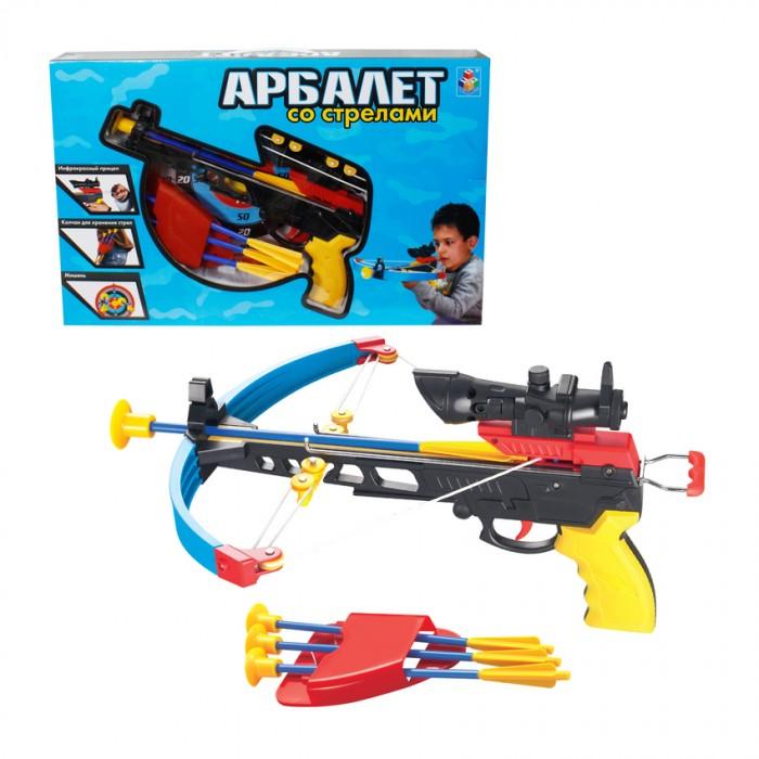 Игрушечное оружие 1 Toy Игровой набор Арбалет с ИК прицелом