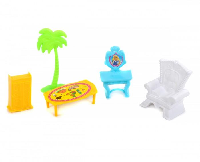 Кукольные домики и мебель China Bright Pacific Мебель для кукол кукольные домики и мебель hape мебель для столовой