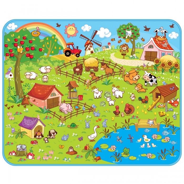 Купить Игровые коврики, Игровой коврик Mambobaby Ферма 130х160х0.5 см