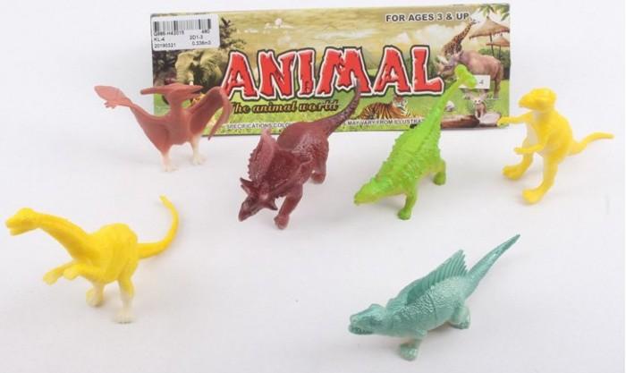 Игровые фигурки China Bright Pacific Набор Динозавры KL-4/DT