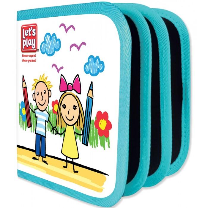Раскраска Let's play Коврик-книжка для рисования водными мелками.