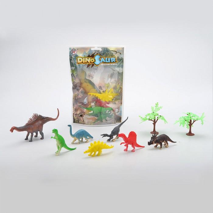 Игровые фигурки China Bright Pacific Набор Динозавры 8801-8/DT