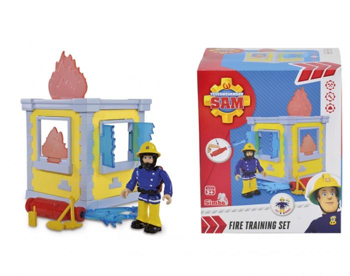 Игровые наборы Simba Пожарный Сэм Маленькая тренировочная база игровой набор simba пожарный сэм большая тренировочная база с фигуркой и акс 42см