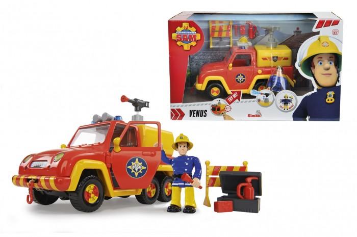Игровые наборы Simba Пожарный Сэм Машина со звуком и функцией воды квадроцикл simba пожарный сэм меркурий со светом фигурка и акс 11 16 12см