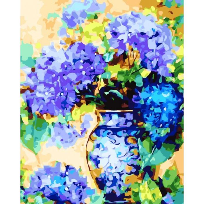 картины по номерам color kit картина по номерам розы для любимой Картины по номерам Color Kit Картина по номерам Букет гортензий