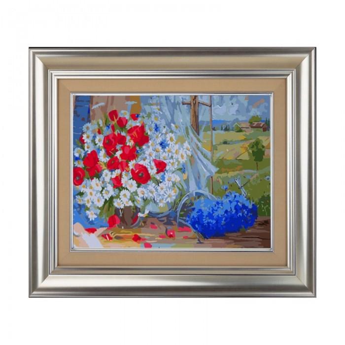 Картины по номерам Color Kit Картина по номерам Полевые цветы printio холст 40×55 полевые цветы