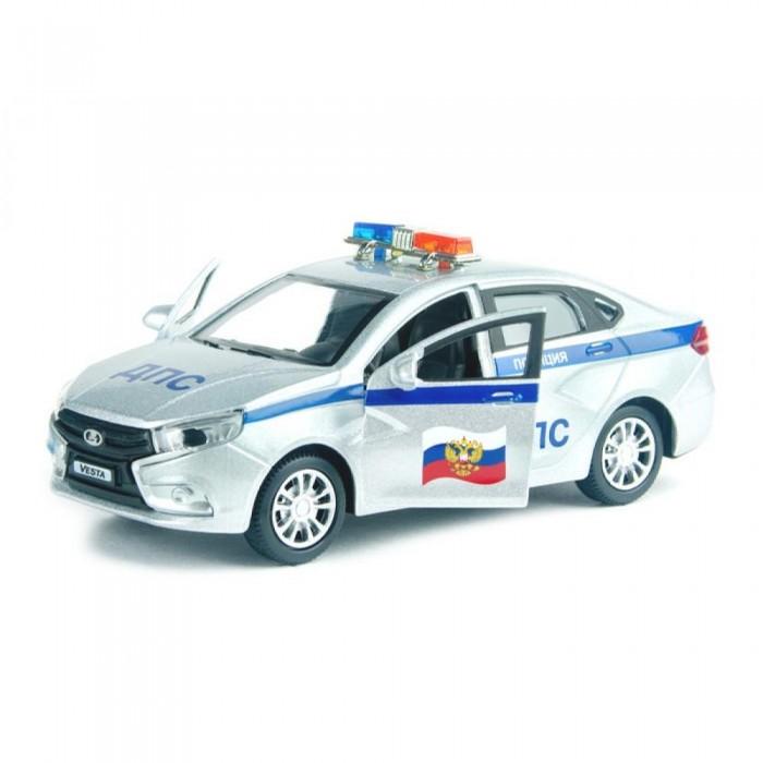 Машины Autogrand Машинка Lada Vesta ДПС 1:36 autogrand игрушка autogrand машинка lada 111 спорт 1 36