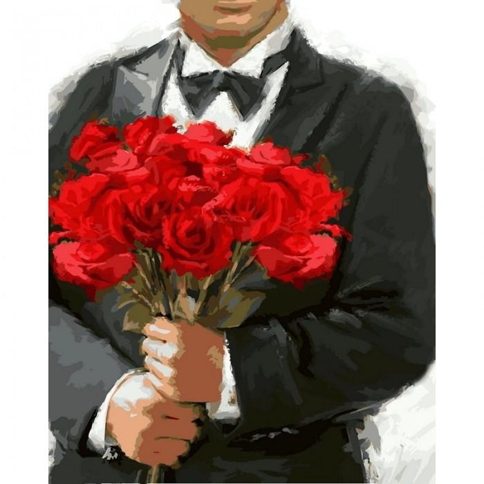 Картины по номерам Color Kit Картина по номерам Розы для любимой