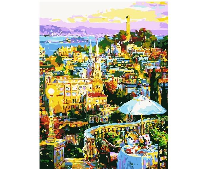 картины по номерам color kit картина по номерам розы для любимой Картины по номерам Color Kit Картина по номерам Атмосферное кафе