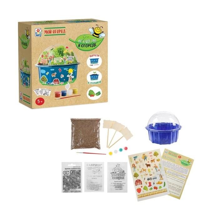 1 Toy Набор для детского творчества Во саду ли, в огороде Мой огород