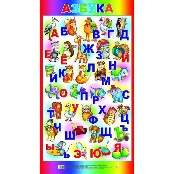 Обучающие плакаты Алфея Плакат Азбука обучающие плакаты алфея плакат грибы