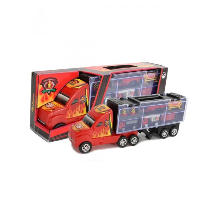 Машины Little Ant Автовоз Пожарная бригада 7 предметов