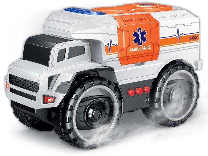 Купить Машины, 1 Toy Экстренные службы Грузовик чрезвычайных ситуаций фрикционный 20 см