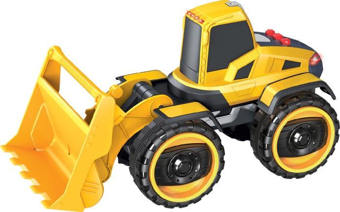 1 Toy Горстрой Фронтальный погрузчик фрикционный 20 см фото