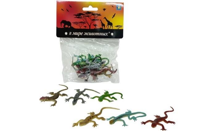 Игровые фигурки 1 Toy В мире животных Ящерицы 8 шт.