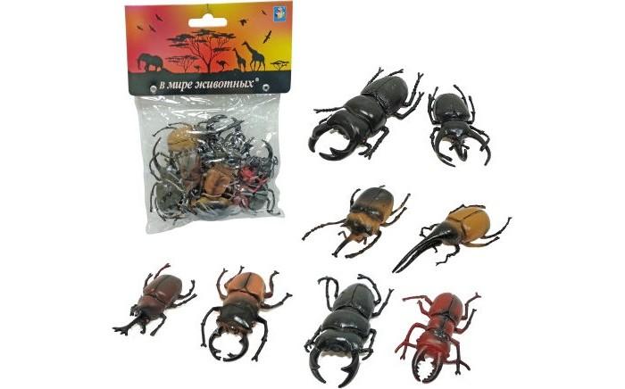 Игровые фигурки 1 Toy В мире животных Жуки 8 шт.