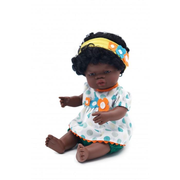 Купить Miniland Кукла пупс Девочка африканка Лусия 38 см в интернет магазине. Цены, фото, описания, характеристики, отзывы, обзоры