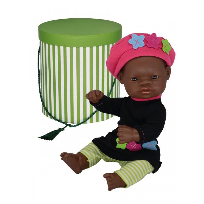 Купить Куклы и одежда для кукол, Miniland Кукла Девочка азиатка с двумя комплектами одежды в цилиндре 32 см