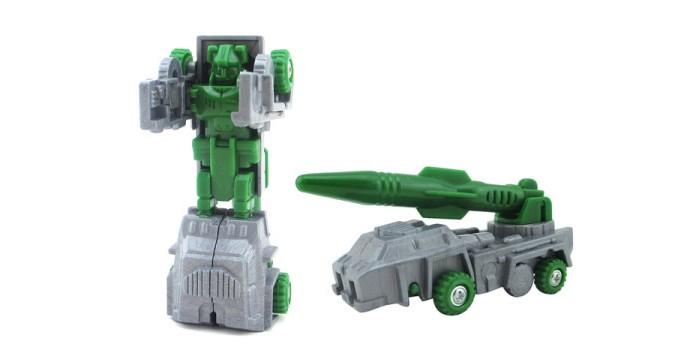 Роботы S+S Toys Робот-трансформер ракетная установка