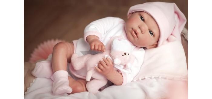 Купить Куклы и одежда для кукол, Arias ReBorns Новорождённый пупс с аксессуарами Gala 40 см