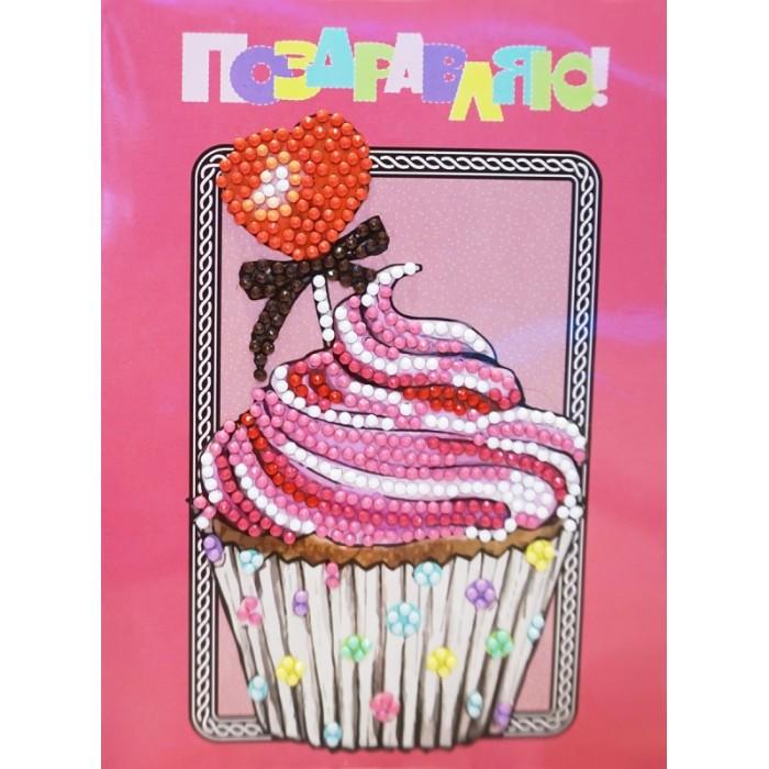 Купить Itshobby Алмазная открытка Поздравляю! AZ014 в интернет магазине. Цены, фото, описания, характеристики, отзывы, обзоры