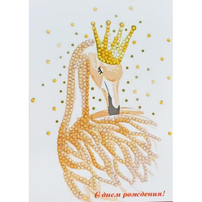 Картины своими руками Itshobby Алмазная открытка С Днем рождения!