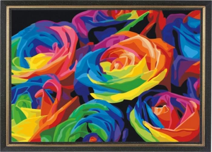 Картины своими руками Color Kit Картина со стразами Розы