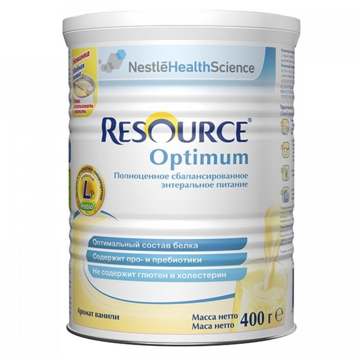 Купить Nestle Продукт молочный Resource Optimum 400 г в интернет магазине. Цены, фото, описания, характеристики, отзывы, обзоры